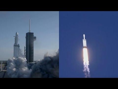 Falcon Heavy launches Arabsat-6A