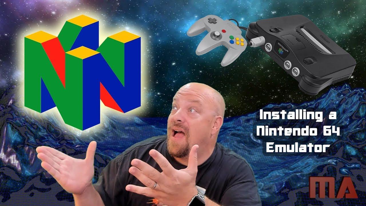 Installing a Nintendo 64 Emulator (Project64 v2 3 2)
