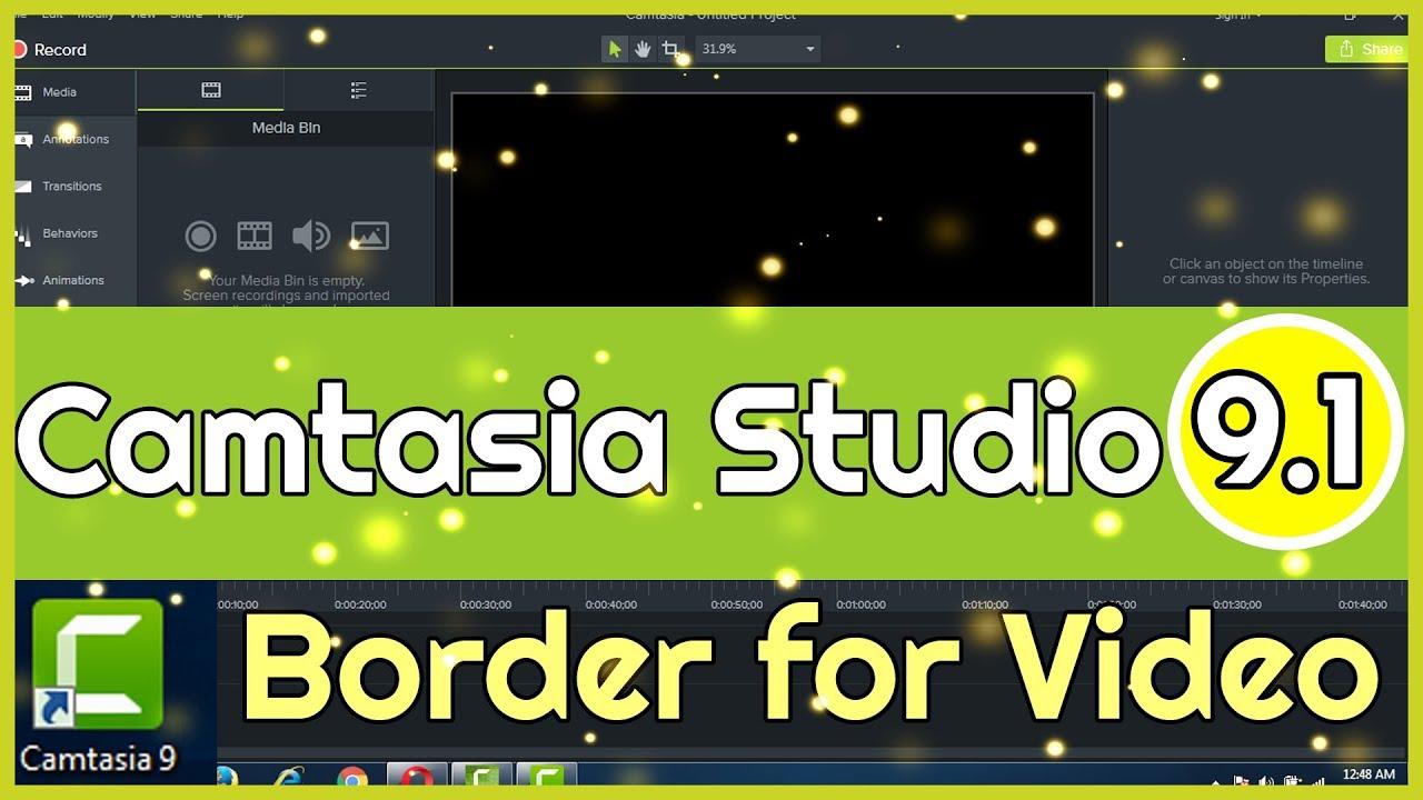 Camtasia Studio 9.1 | 2 Cách Tạo Bo Viền Cho Video Với Camtasia 9
