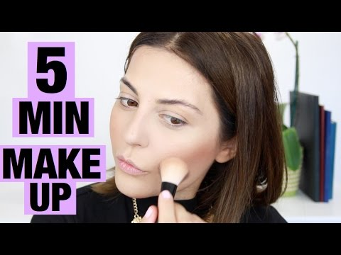 5 Minute Makeup Challenge Natural Everyday Makeup Youtube