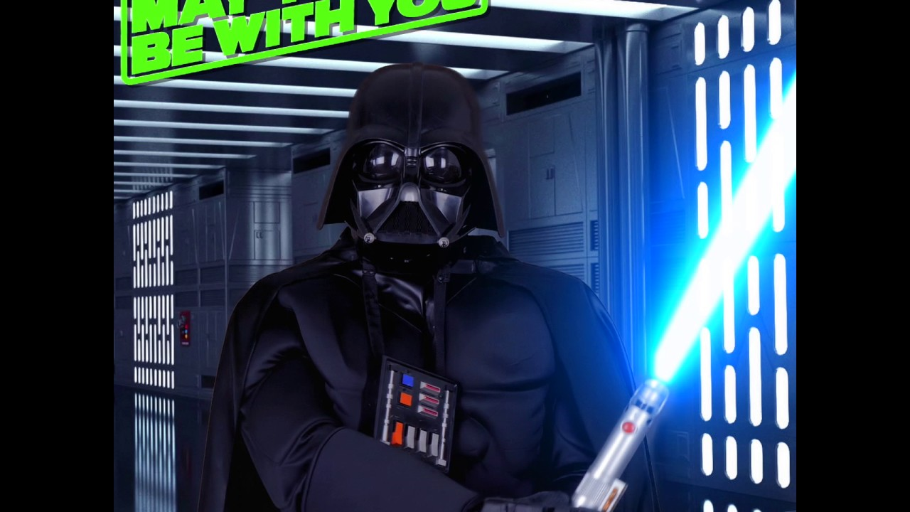 """Facebook looping star wars """"may the fourth be with you"""" advert with fx 2017"""