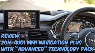 Audi MMI 3G+ MIB2 Navigation Plus System Review (With Advanced Tech Pack)
