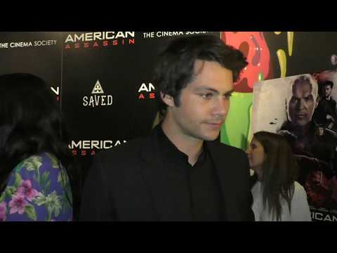 American Assassin Premiere - Dylan O'Brien (Mitch Rapp)