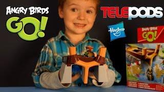 видео Купить игрушки Angry Birds GO! и Angry Birds Telepods (Энгри Бердс) в интернет-магазине NextToy