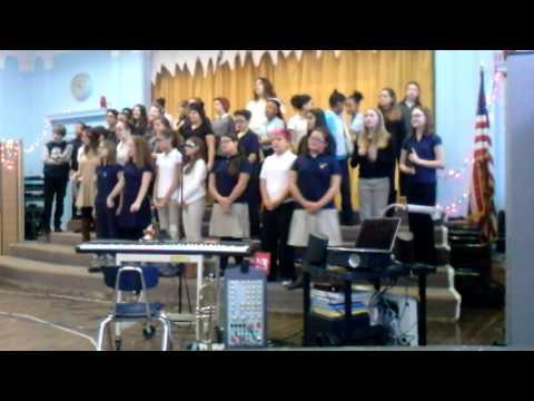Benjamin Franklin school choir