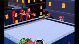 TMNT: Mutant Melee Walkthrough Part 12 (GameCube)