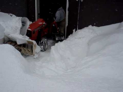 Snow removal. West Virginia Style.
