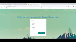 Employee leave management system(elms) divided in two modules : module admin project link --- https://goo.gl/9necgy language used php datab...