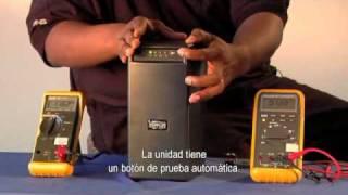 Cómo: Tomar una lectura de voltaje de un Sistema UPS Tripp Lite - Subtítulos en español