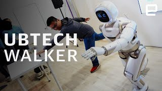 Ubtech Walker hands-on at CES 2020