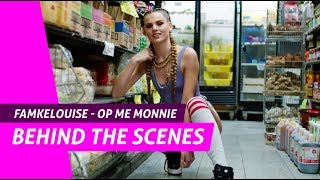 famkelouise op me monnie behind the scenes