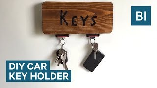 This DIY Seat Belt Key Holder Is For The Ultimate Car Fan