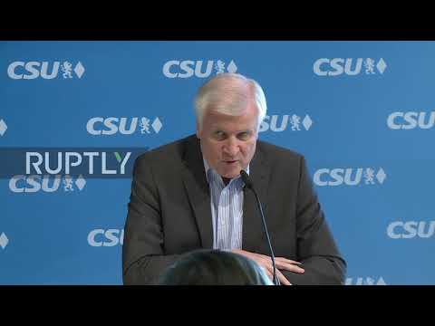 Germany: CSU will send back migrants if EU deal not reached - Seehofer