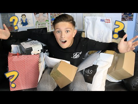 WTF!! WHY WOULD YOU SEND ME THIS?! - THE BIGGEST PO BOX OPENING #7 - MORGZ MAIL!