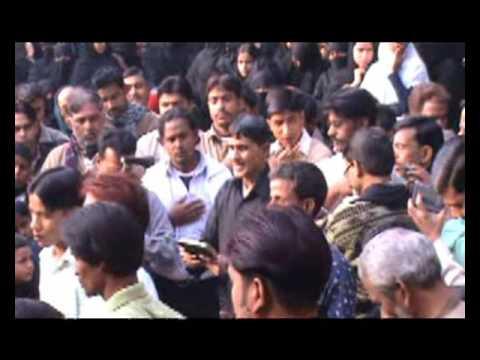 Sakeena Aai Hai Milne Ko Uthie Ae Baba | Husainia Jafrabad | 2 Moharram Jafrabad Jalalpur 2009