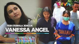 Jenguk Vanessa Angel, Feby Febiola: Makin Kurus