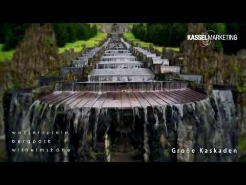 Wasserspiele / Wasserkünste im UNESCO Welterbe Bergpark Wilhelmshöhe in Kassel - World Heritage