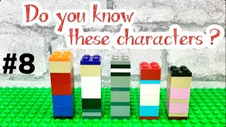 #8 funny Lego characters