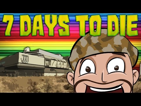 7 Days to Die ★ MILITARY BASE TIME (10)