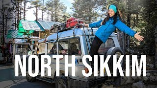 North Sikkim | Road trip to Lachung, Yumthang Valley | North East Trip | Vlog Part 2
