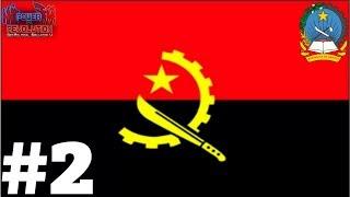 Geopolitical Simulator 4 - Angola - pt 2: The Unpopular President