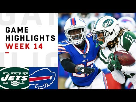 Jets vs. Bills Week 14 Highlights | NFL 2018