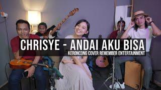 [ KERONCONG ] Chrisye - Andai Aku Bisa cover Remember Entertainment