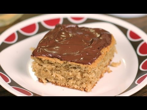 Vegan Peanut Butter Cake Recipe - Peanut Butter Birthday Cake Recipe - Dessert A Day Project #7