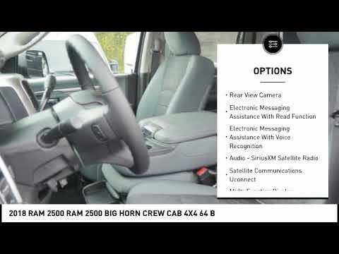 2018 RAM 2500 Winston-Salem NC R8694