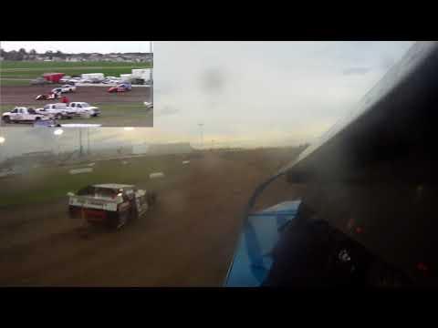 #6 Austin Veralrud On-Board @ Red River Valley Speedway (6/1/18)