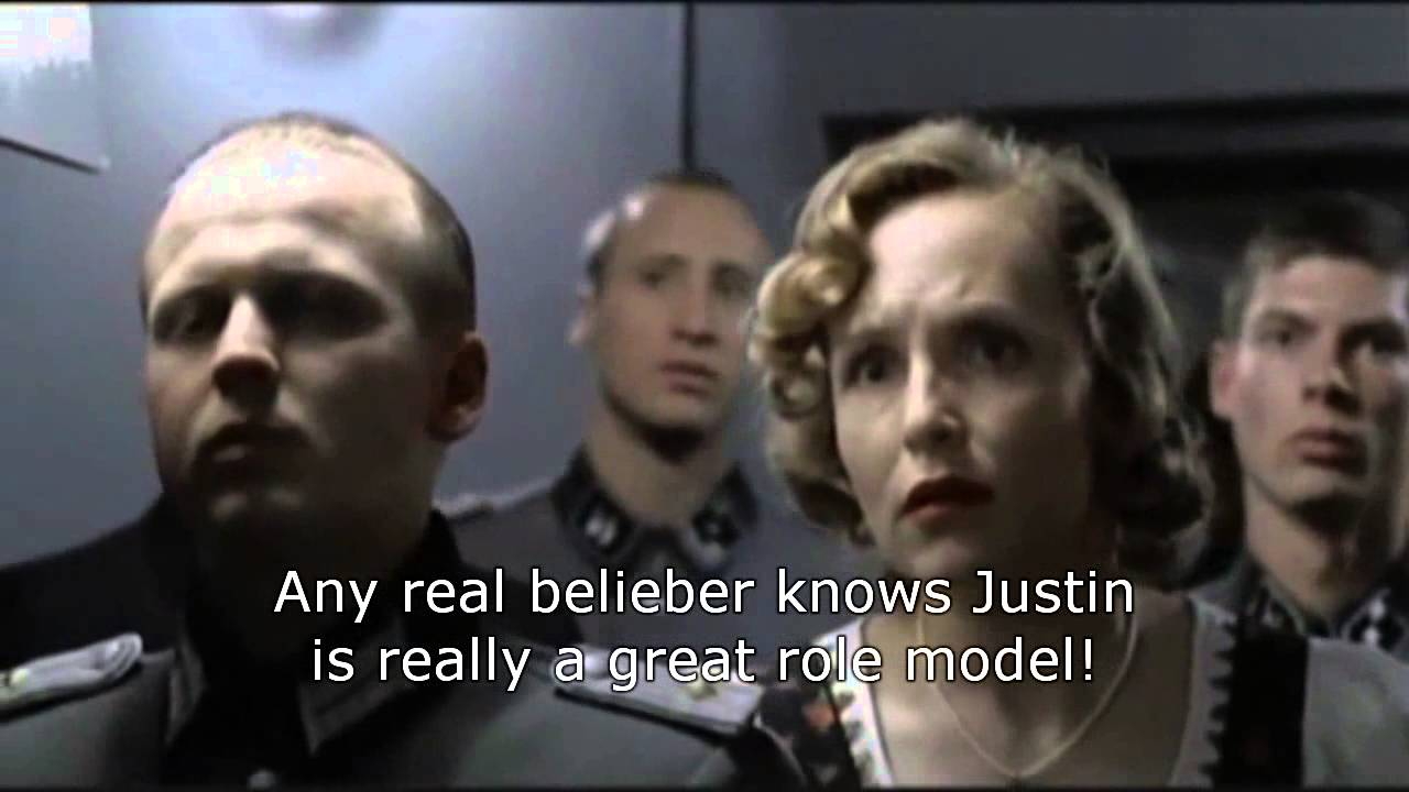 Hitler Reacts To Justin Biebers Arrest Downfall Parody YouTube - Best reactions to justin bieber arrest