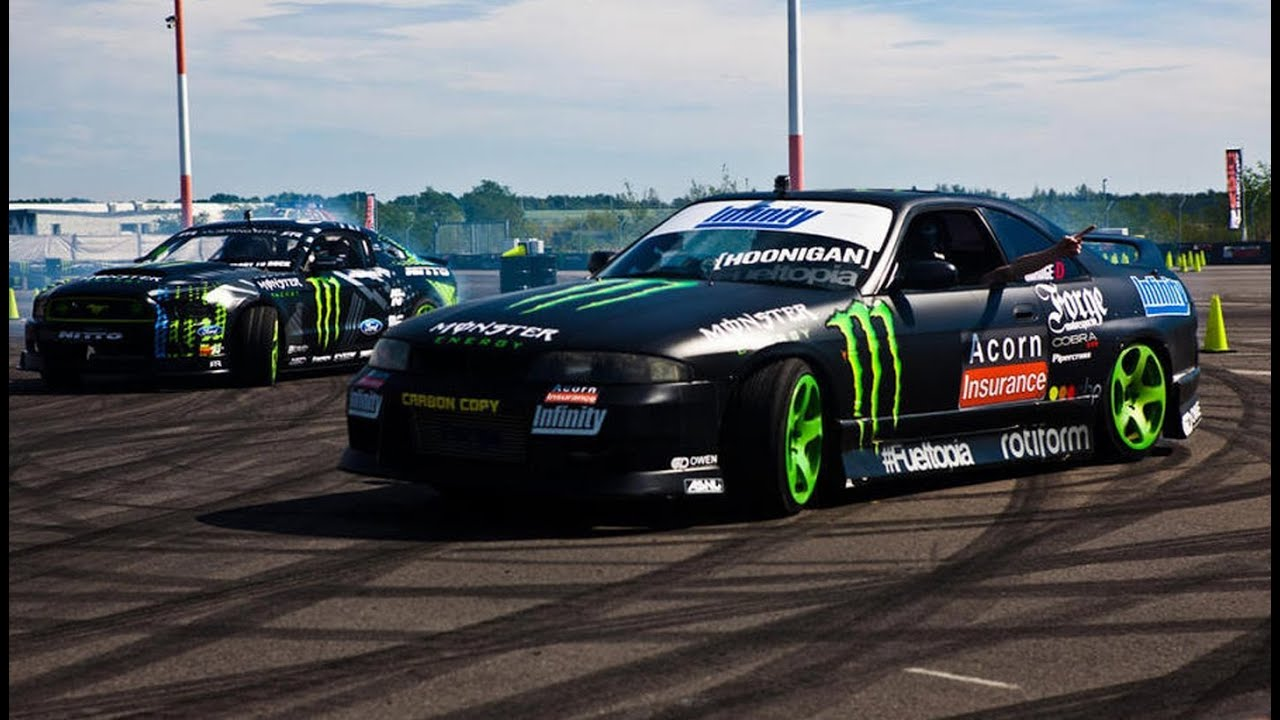 monster energy gymkhana grid 39 s qualifying in hungary and. Black Bedroom Furniture Sets. Home Design Ideas