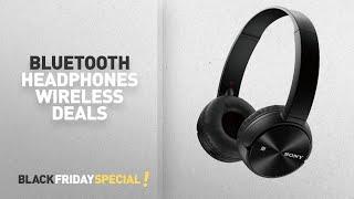 Чорна п'ятниця Bluetooth Бездротові навушники пропозиції: Соні MDR-ZX330BT Бездротової Bluetooth навушники