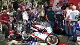 Puesta en marcha J.J.COBAS 250cc válvulas rotativas 2T del mundial de Moto GP
