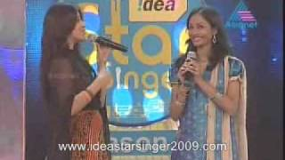 idea star singer season 4 may 26th nayana nair song round