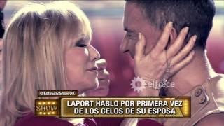 Osvaldo Laport habló sobre los celos de su mujer