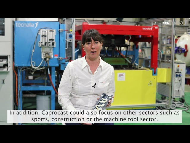 CAPROCAST: Low cost thermoplastic sustainable composites