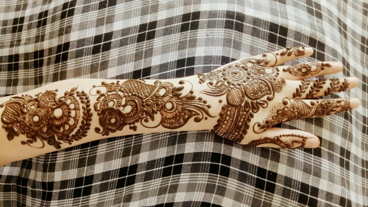 Ramazan Eid Special Henna Design 17 2017 Youtube