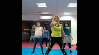 Zumba with zehava karasso - barbie ben el tavori & static