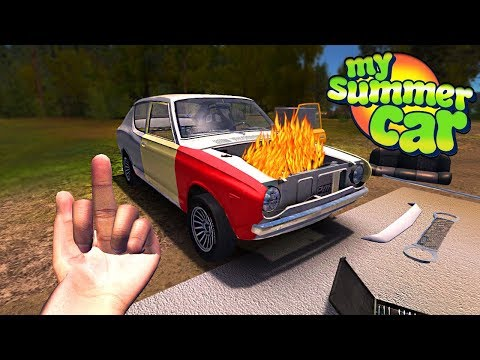 My Summer Car - ELECTRICAL FIRE