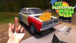 My Summer Car - ELECTRICAL FIRE