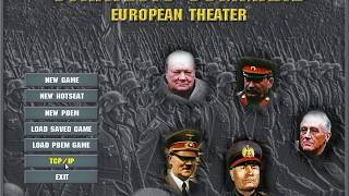 Let's Play Strategic Command (European Theater) - Part 1- Into and start