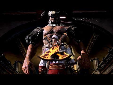 God Of War III - Kratos Vs Hercules The Battle That Shattered Realms!