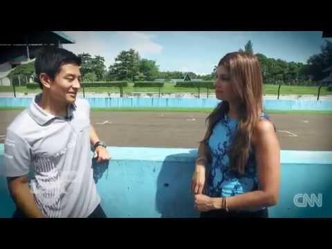 Interview Rio Haryanto di Sirkuit Sentul