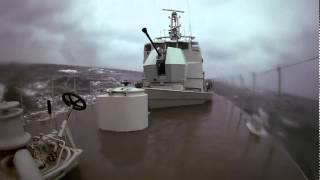 Swedish Navy HMS Jägaren Bofors 40Mk4 BAE Systems