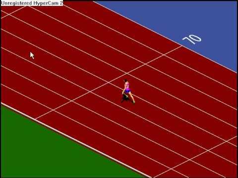 Sprinter game- 7.69s