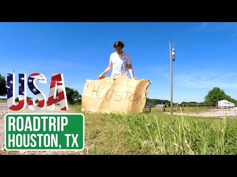 Hitchhiking to Houston TX - United States of Adventure - Ep. 2