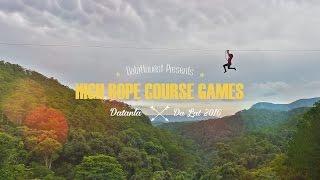 Game mạo hiểm High Ropes Course tại Đà Lạt - Bạn đã thử chưa?