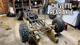 1000cc Trophy Kart Build Pt. 3 | Mounting the Rear Axle