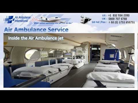 Air Ambulance Service By Air Ambulance International